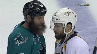 Handshakes all around after Sharks crush Predators