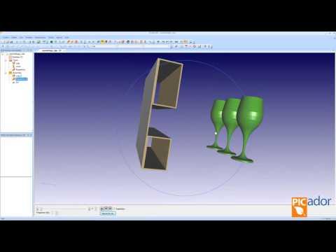 Picador CAD - Diseño de una calza de protección en 3D (Sign-Tronic.es)