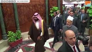 شيخ الأزهر رئيس مجلس حكماء المسلمين يستقبل ولي العهد السعودي ...