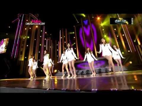 [HD] GENIE LIVE [ RAPPER HWANG EDITION] @ HALLYU DREAM CONCERT - Girls' Generation [SNSD]