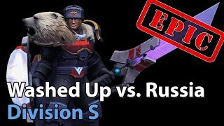 ► Heroes of the Storm: Team Russia vs. Washed Up - Division S - Heroes Lounge