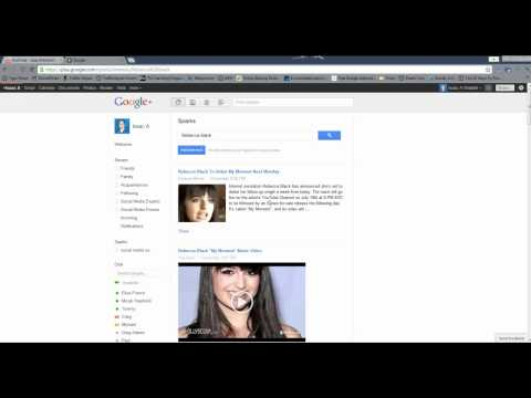 Google Sparks In Google Plus