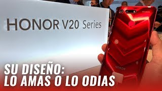 Honor V20: Un diseño diferente, ¿es suficiente?