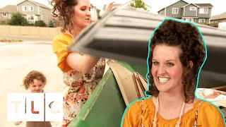 Extreme Couponer Takes Her Son To Look For Coupons Inside Recycling Dumpsters | Extreme Couponing