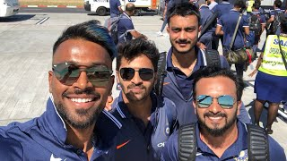 Team India cricketers get shocking notice before going into the washroom in CapeTown