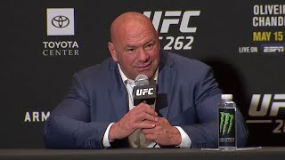 UFC 262: Dana White Post-fight Reaction