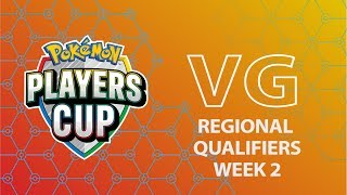 Pokémon Players Cup VG Regional Qualifiers Week 2