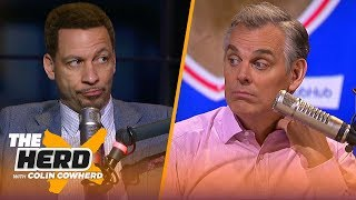 Chris Broussard: Jimmy Butler 'does not fit' with Rockets, talks KD's FA plans | NBA | THE HERD