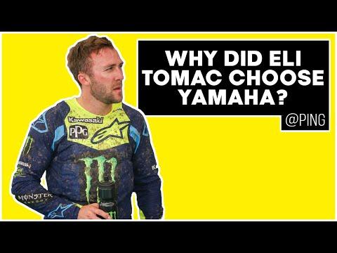 Why Did Eli Tomac Choose Yamaha? - Ping
