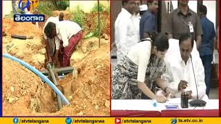 CM KCR sets fresh deadlines for Mission Bhagiratha..