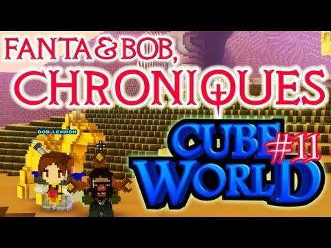 fanta et bob, les chroniques de cube world - ep.11