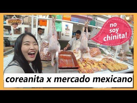 Asi es mi experiencia del mercado mexicano! feat. la merced│coreanita