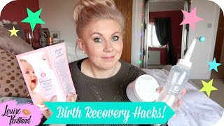 Post Birth Recovery Tips/Tricks/Hacks (Postpartum) | MOTHERHOOD