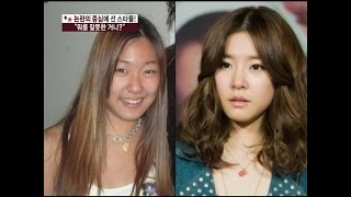【TVPP】SNSD - Controversy of cosmetic surgery, 소녀시대 - 소녀시대 성형 논란?! @ Section TV