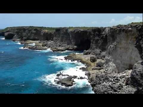 Falaises de la Porte d'Enfer à Anse-Bertrand - Guadeloupe