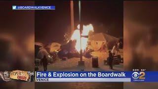 Concerns Growing As Encampment Expands On Venice Boardwalk