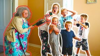 Escape Granny's Creepy Old House! Trying To Get Home!