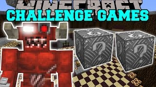 Minecraft: CYBER DEMON CHALLENGE GAMES