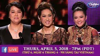 Livestream với Cô Marie Tô, Ý Lan, Như Quỳnh - April 5, 2018