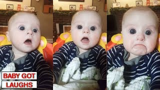 10 Minutes of Surprised Baby Reactions | Try Not To Awww Challenge