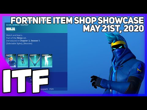 Fortnite Item Shop *NEW* NINJA BUNDLE! [May 21st, 2020] (Fortnite Battle Royale)