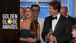 Modern Family Wins Best TV Series Comedy or Musical - Golden Globes 2012