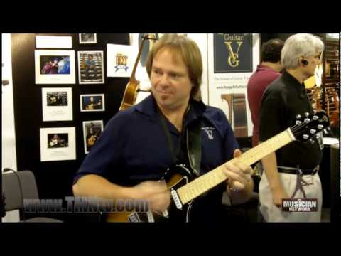 WINTER NAMM 2010 - VOYAGE AIR GUITAR | MARK DREYER (Demo Performance)