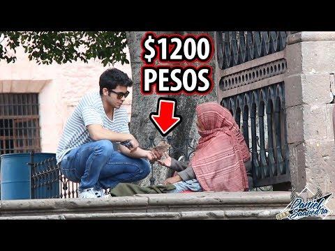 LE DÍ $1200 A ESTA VIEJITA E HIZO ESTO