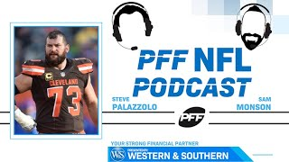 PFF NFL Podcast: Franchise Tag Predictions and Interview with NFL Network Analyst, Joe Thomas | PFF