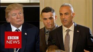 Florida victim's dad to Trump: I'm pissed - BBC News