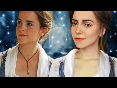 Emma Watson (Belle) Transformation Makeup Tutorial