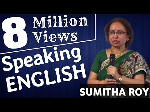 Speaking English by Prof Sumita Roy at IMPACT SEPT 2015