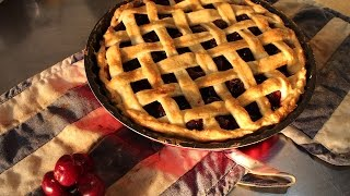 How to Make Cherry Pie From Scratch @Pie Recipes