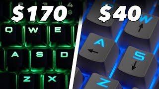 $40 Keyboard Vs. $170 Keyboard: We Try Cheap Vs. Expensive Gaming Keyboards In Fortnite