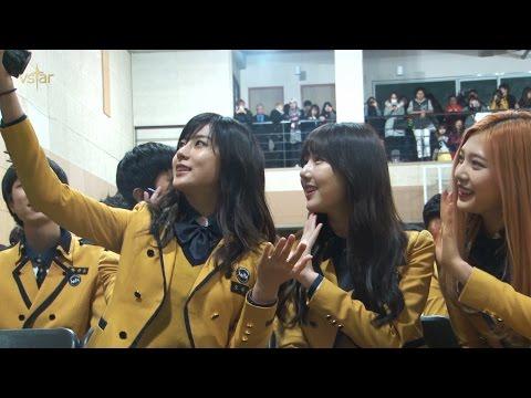 150211 서공예 졸업식 현장 밀착취재!!_하영,예린,조이,젤로,이하이