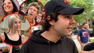I MET DAVID DOBRIK & HE GAVE AWAY $10,000! (ft. Carly Incontro, Jason Nash, Natalie)