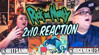 """Rick and Morty 2x10 REACTION!! """"The Wedding Squanchers"""""""