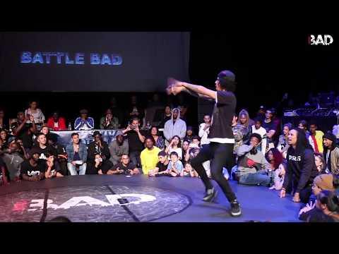DYKENS vs LARRY LES TWINS - Battle BAD 2018 - HIP-HOP FINAL