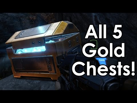 Destiny: All 5 Golden Chest Locations on Venus (in the Ishtar Sink)