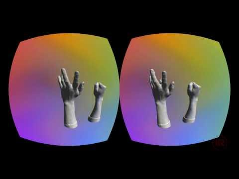 4D stop motion test in Unity + VR