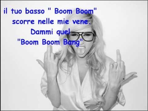 Baixar Kesha Boom Boom Bang Traduzione Italiana