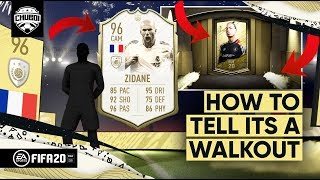 The REAL Way to Tell Its a Walkout in FIFA 20! (Pack Animation Explained)