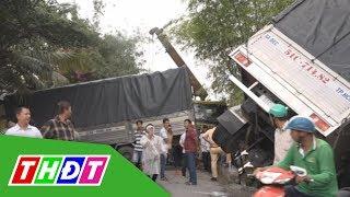 Tai nạn liên hoàn ở Lấp Vò, giao thông kẹt 2 km | THDT