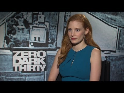 'Zero Dark Thirty' Jessica Chastain Interview