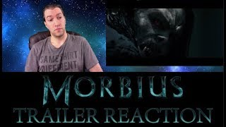 MORBIUS TRAILER REACTION | They Only Missed The Vampire Craze By A Decade And Change