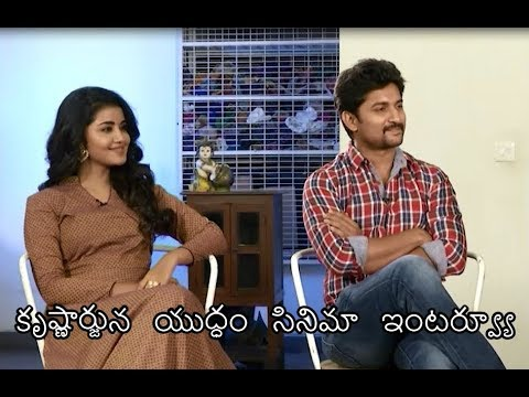 Nani-and-Anupama-Parameswaran-Interview-About-Krishnarjuna-Yuddham