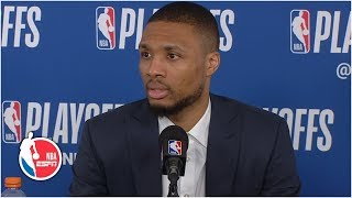 Damian Lillard on Blazers' doubters: You don't become the No. 3 seed by luck | 2019 NBA Playoffs