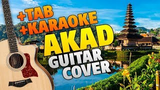 Payung Teduh - Akad (Fingerstyle Guitar Cover With Tabs And Karaoke)
