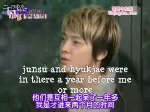 Eunhyuk and junsu made donghae cry (ENG SUB)