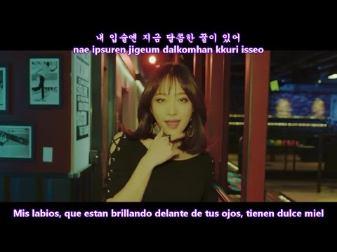 Luna, Hani, Solar - Honey Bee MV [Sub Español + Hangul + Rom] HD